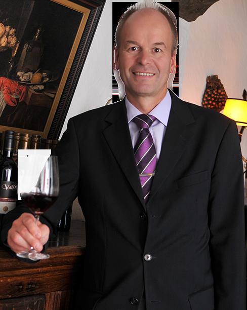Klaus Jungmann ist der Manager des Gasthauses Sanct Peter.
