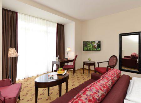 Ein weiteres Zimmer des Hotels Sanct Peter